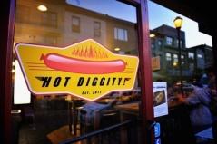Hot Diggity! Door